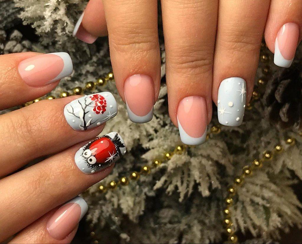Новогодний дизайн ногтей 2020 года Крысы