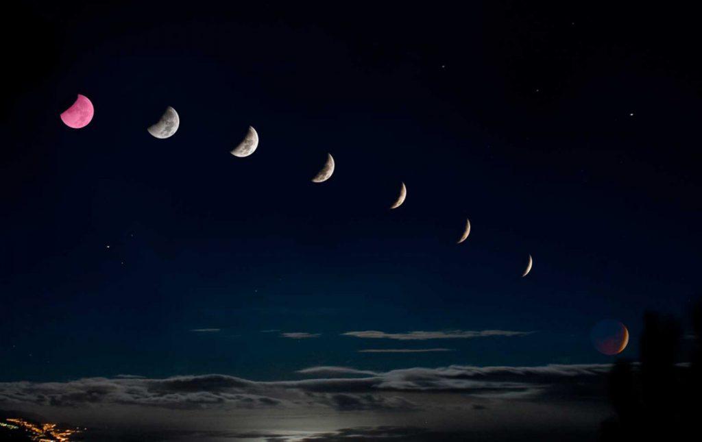 Когда будет растущая луна в феврале 2020 года?