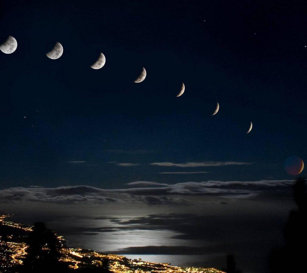 Когда будет убывающая луна в марте 2020 года