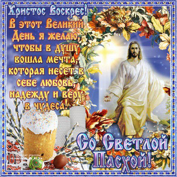 Поздравления 2020 с Христовым Воскресеньем в прозе